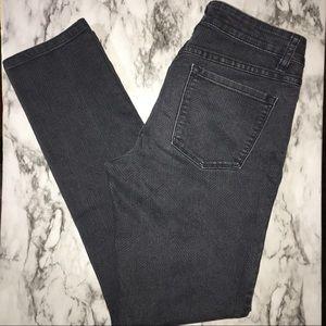 PRANA black/grey KARA stretchy,skinny jeans 6/28